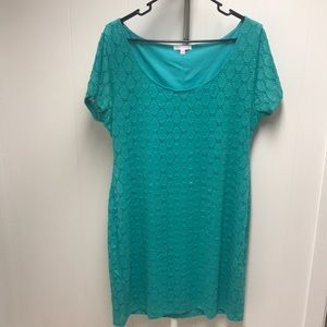 Lace dress XXL fitted